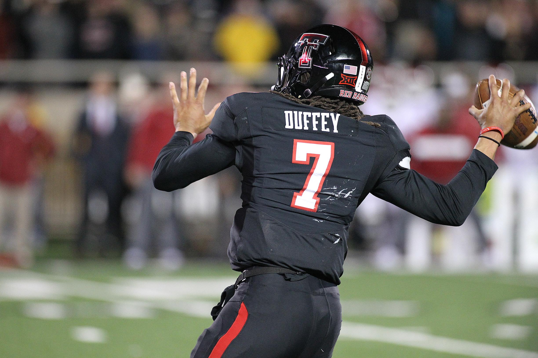 Jett Duffey- Texas Tech Football vs Oklahoma- 2018